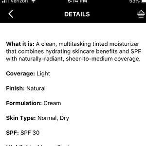 NWT Bare Minerals Complexion Rescue Gel Cream NWT